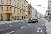 Finišující rekonstrukce třídy ČSA v centru Hradce Králové.