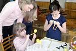Dětská tvůrčí dílna v Roudničce.