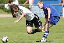 Fotbalová divize C: FC Hradec Králové B - FK Náchod.