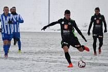 Zimní příprava fotbalistů: FC Hradec Králové - FK Dobrovice.
