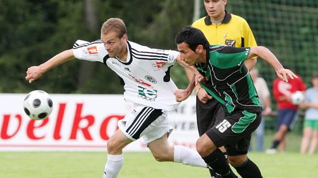 Z přípravného utkání FC Hradec - Příbram