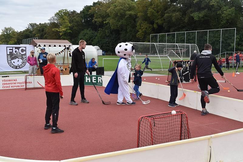Děti si mohly vyzkoušet až 40 různých sportů.