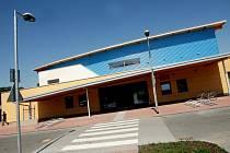 Sportovní hala v Třebši