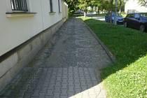 Historický chodník se dočká opravy