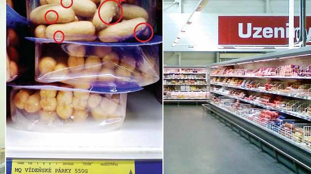 Zkažené potraviny