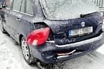 Dopravní nehoda u Opatovic nad Labem.