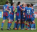 Fotbalová I. Gambrinus liga: FC Hradec Králové - FC Viktoria Plzeň.