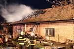 Požár části domu v Těchlovicích zavinila nedbalost.