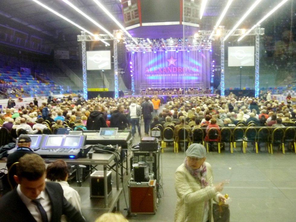 Alexandrovci - koncert na zimním stadionu v Hradci Králové.
