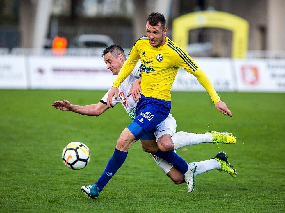 Fotbalová Fortuna národní liga: FC Hradec Králové - FK Varnsdorf.