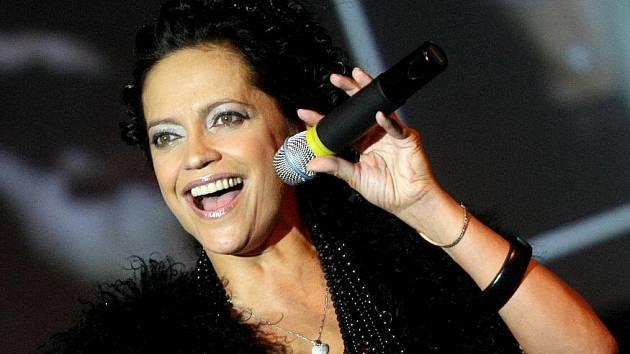 Koncert Lucie Bílé v Hradci Králové.