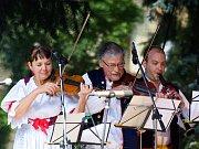 Folklórní festival Pardubice - Hradec Králové.