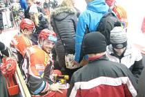 Den otevřených dveří na zimním stadionu v Hradci Králové.