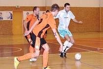 Futsalová II. liga - zápas: Hradec Králové - Litoměřice.