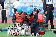 Královéhradečtí hasičští sportovci na Hasičské olympiádě v rakouském Villachu.