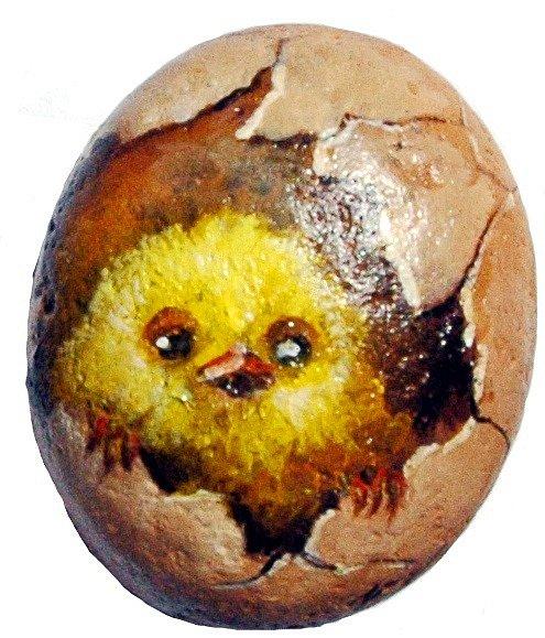 Omalovaný kamínek: Vlasta Kahovcová.