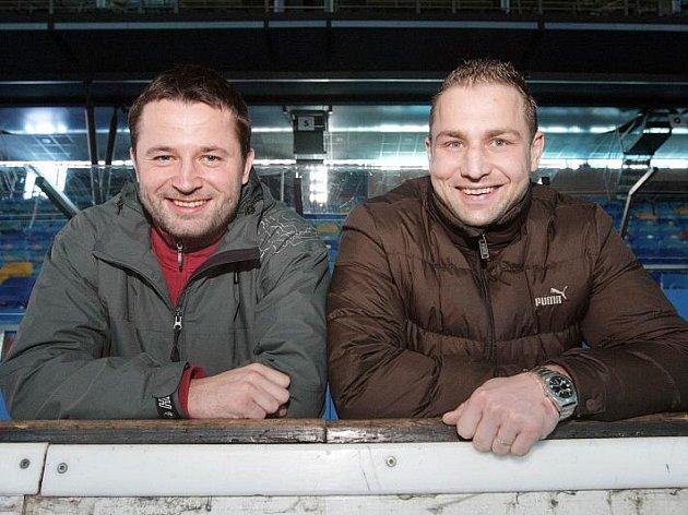 Útočníci Jaroslav Roubík a Martin Koudelka patří k základním pilířům mužstva HC VCES Hradec Králové.