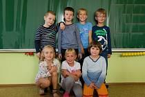 Prvňáčci ze Základní školy Kosičky.