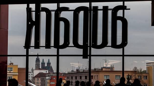 Otevření obchodního centra Aupark v Hradci Králové.
