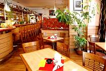 Restaurace Atlanta v Hradci Králové.