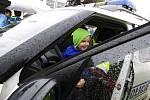 Dětský den s městskou policií nazvaný Bezpečné město v Hradci Králové.
