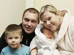 Eliška Rybárová přišla na svět 30. ledna v 17.10. Po narození měřila 50 centimetrů a vážila 3570 gramů. Se svými rodiči Ivanou a Josefem Rybárovými      a bratrem Josífkem bydlí v Syrovátce.