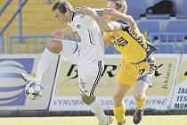 Fotbal, II. liga - 30. kolo: Vysočina Jihlava - FC Hradec Králové. 5. června 2010