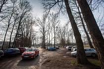 Parkoviště a parkování u Fakutlní nemocnice Hradec Králové.