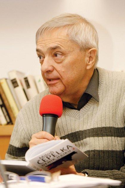 Miloň Čepelka hostem Českého rozhlasu Hradec Králové.