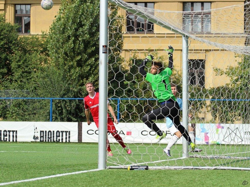 Česká fotbalová liga: FK Slavoj Vyšehrad - SK Převýšov.