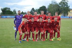 Výběr fotbalistů Královéhradeckého kraje reprezentoval Českou republiku na turnaji Region´s Cup.