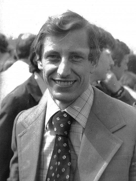 František Bloudek v mládí.