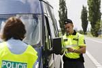 Preventivní akce Policie ČR a Besipu s názvem Řídím, piju nealko pivo zaměřená na alkohol za volantem.
