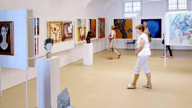 Východočeský výtvarný salon v Galerii Na Hradě v Hradci Králové.