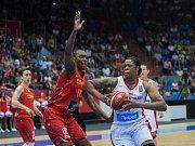 Mistrovství Evropy basketbalistek v Hradci Králové: České republika - Maďarsko.