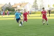 Krajská fotbalová I. B třída, skupina A: TJ Lokomotiva Hradec Králové - FK Kopidlno.