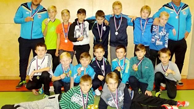 Výběr Okresního fotbalového svazu kategorie U12.