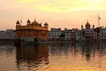 Zlatý chrám Amrits, Indie