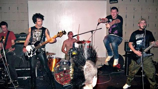 Nová hradecká hardcorepunková kapela Lost generation