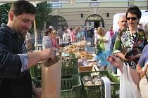 Farmářské trhy v Hradci Králové, sobota 11. června.