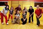 První setkání soutěžících v projektu Hubněte s Deníkem (leden 2011).