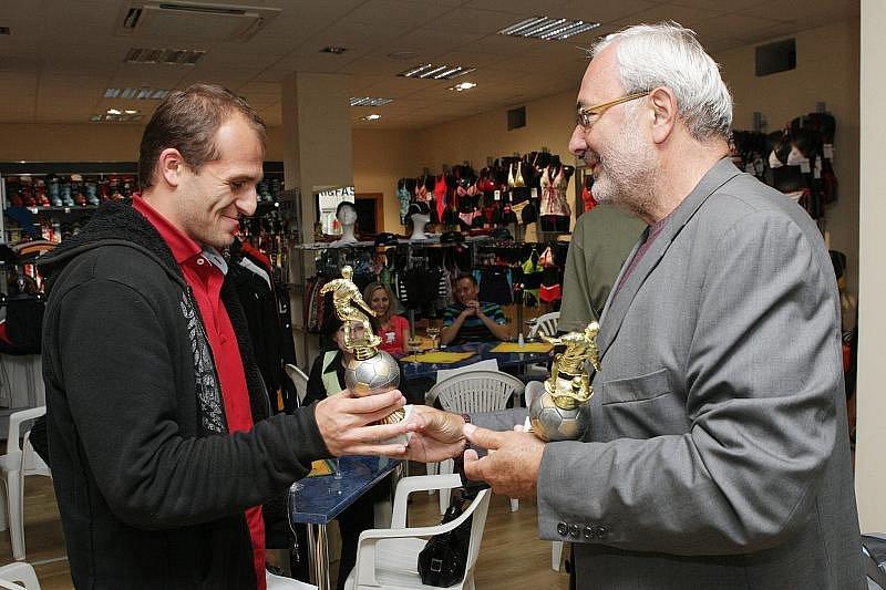 Ve středu 24.6. proběhlo v prodejně RM SPORT v Hradci Králové vyhlášení nejlepších fotbalových kanonýrů východních Čech za sezonu 2008/2009.