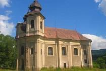 Kostel svaté Markéty v Šonově na Broumovsku