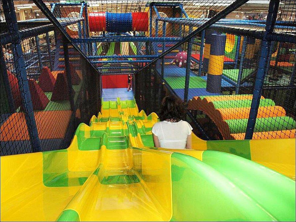 Rodinný zábavní park Tongo v Hradci Králové.