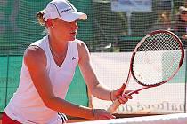 PARDUBICKÁ TENISTKA Zuzana Zálabská se představí v semifinále tenisového MČR.
