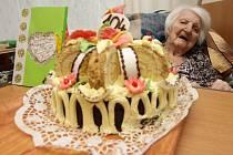 Eva Pellarová a její 104. narozeniny.