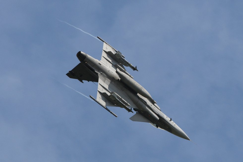 Jas 39 - Gripen. International Flying Display v Hradci Králové