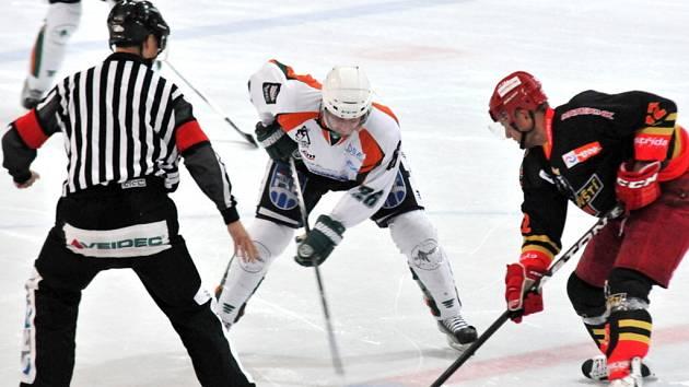 I. hokejová liga: Královští lvi Hradec Králové - HC Most.