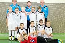 Výběr OFS Hradec Králové desetiletých obsadil v Zimní halové lize KFS 2017/2018 druhou příčku.