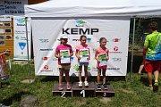 Šestnáctný ročník Dětského triatlonu a Triatlonu pro každého si užili všichni závodníci a to jak děti, tak i dospělí.